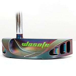 Image 3 - Clubes de golfe putter men destro forma semicircular forjado cnc eixo de dobra aço face equilíbrio pvd preto frete grátis