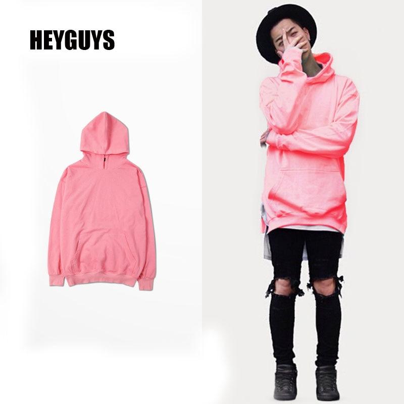 Images of Mens Pink Hoodie - Reikian
