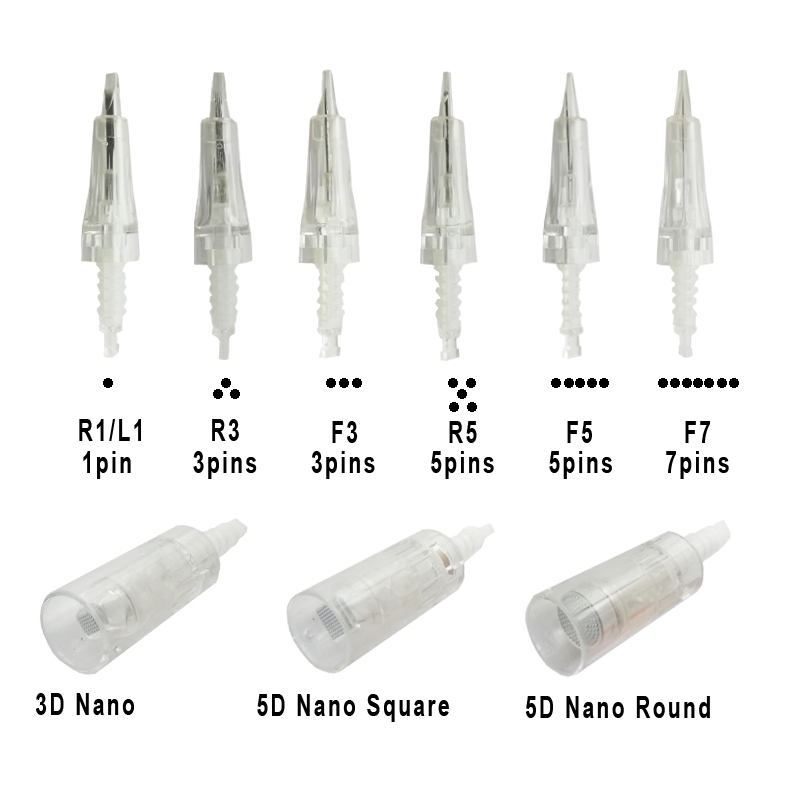 Replacement Bayonet Cartridge Needles For Electric Dr.Pen Dr Pen Microblading Microagulhamento Stamp ULTIMA M7 M5 N2 MYM A1 A6