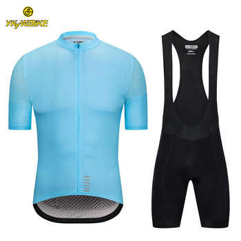 YKYWBIKE 2019 summer cycling jersey sets mens cycling clothing short sleeve mtb jersey kits cycling bib shorts conjunto ciclismo - DISCOUNT ITEM  35% OFF Sports & Entertainment