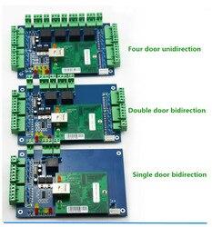Cztery drzwi jednokierunkowy Wiegand TCP/IP kontroli dostępu RFID/NFC kontroler dostępu do drzwi + darmowe oprogramowanie do kontroli dostępu