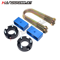 HANSSENTUNE 4x4 Accesorios 25mm Leveling Lift Kit 2.5 Front Lift spacers and 2 Rear Lift block For RANGER/BT50 2012+