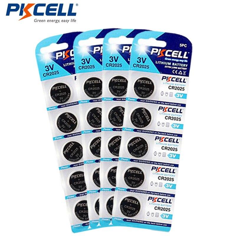 20 X CR2025 3 В ecr2025 <font><b>2025</b></font> BR2025 kl2025 l2025 литиевых Батарея кнопка