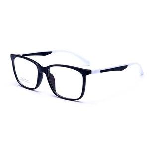 Image 5 - Hotony Optische Brillen Ultem Flexibele Super Lichtgewicht Recept Optische Bril Frame D010