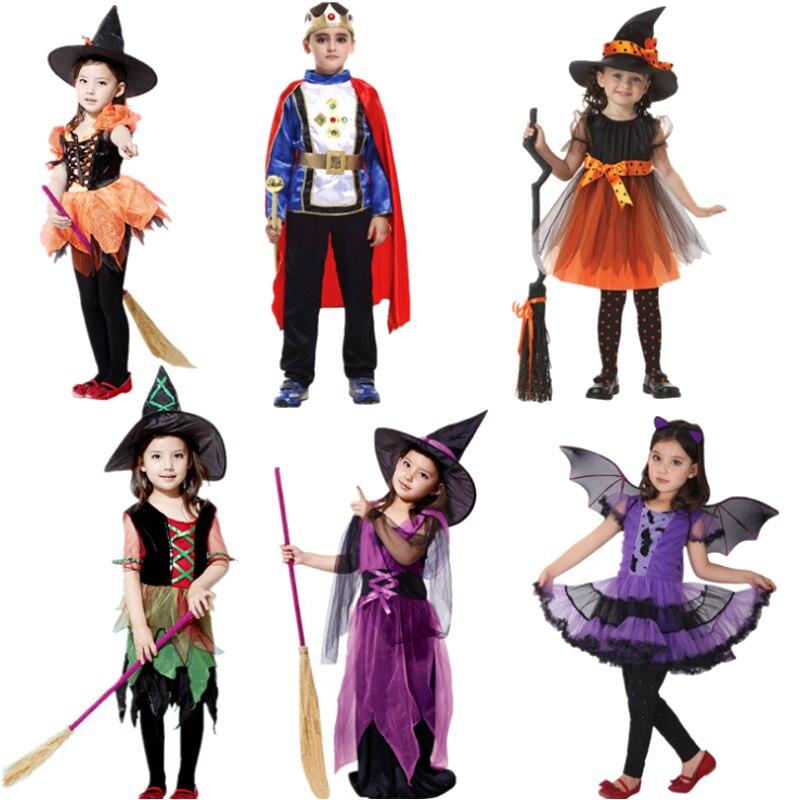 Boy Girl Children Christmas Halloween Clothing Girls Witch