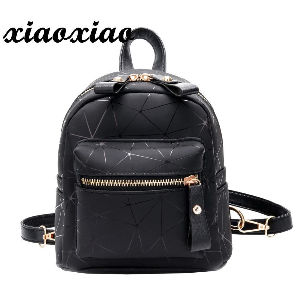 women's backpack 2018 Fashion Girl Splice School Bag Backpack Satchel Women Trave Shoulder PU Leather Bag drop shipping O0611#30 недорго, оригинальная цена