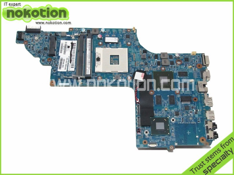 NOKOTION 682000-001 685446-001 Laptop motherboard For Hp Pavilion DV7-7000 Intel ddr3 With nvidia GT630M 1GB memory 48.4ST10.031 763425 501 for hp pavilion 17 f 17z f laptop motherboard day22amb6e0 rev e 260m2gb a6 6310 mainboard 90days warranty 100