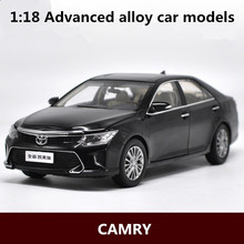 1:18 Advanced alloy car models,high simulation CAMRY original factory model,metal diecasts,children's toy vehicles,free shipping