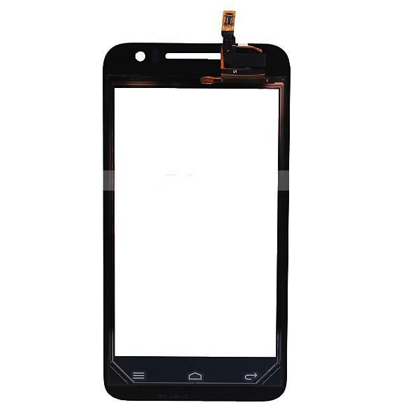 imágenes para Pantalla Táctil negro Digitalizador Lente de Cristal Reparación de Parte de Reemplazo Del Sensor Del Panel + Número de seguimiento libre Para Huawei Ascend G330 U8825D
