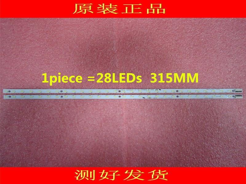 10pieces lot V500HK1 LS5 LED strip V500H1 LS5 TLEM4 V500H1 LS5 TREM4 28LEDs 315MM