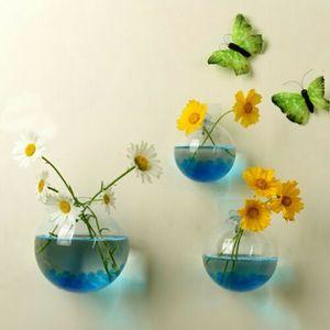 Image 2 - Bahçe malzemeleri ev asılı cam küre vazo çiçek saksısı tencere teraryum konteyner ev bahçe dekorasyonu