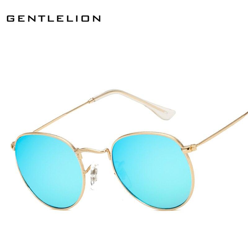 df0964b58cd34 New Retro Round Sunglasses Women Brand Designer Sun Glasses for Ladies  Alloy Mirror Sunglass Ray Female oculos de sol 3447 .