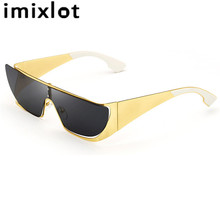 IMIXLOT New Individuality Cat Eye Sunglasses of Women Fashion Sexy UV400 Sun Glasses Female Eyewear oculos de sol feminino