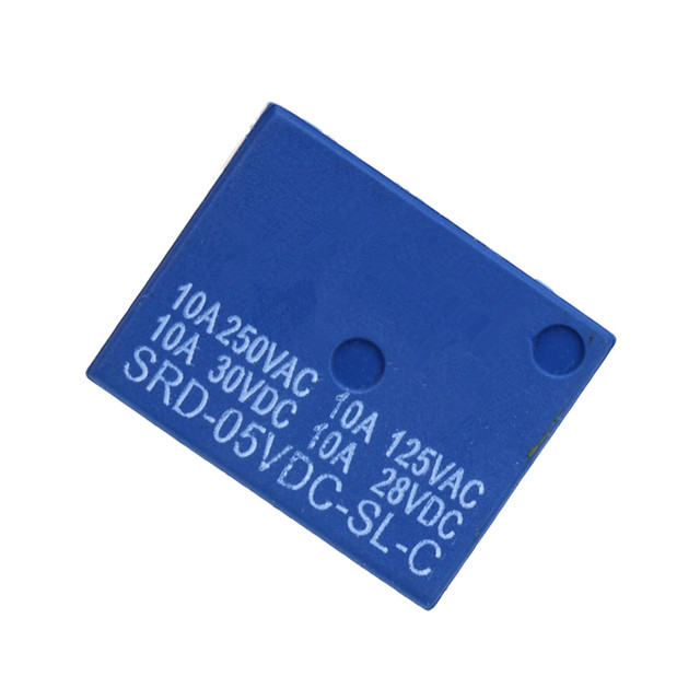 Smart Electronics  DC 5V  12V  SONGLE Power Relay SRD-05VDC-SL-C PCB Type  SRD-12VDC-SL-C PCB Type