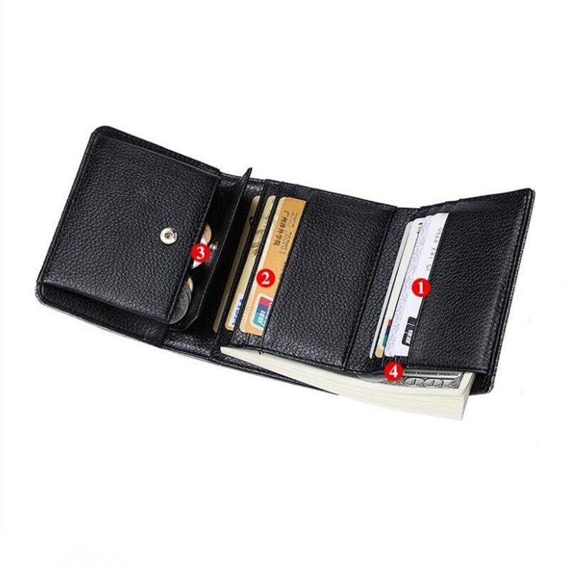 WERAIMJX Mode Korta Wallet Women Portefeuille Femme PU Läder - Plånböcker - Foto 6