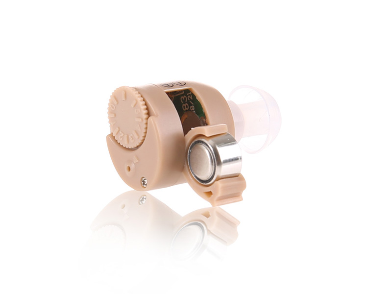 2pcs pairing left & right Analog ITC Hearing Aids S-211 Invisible Mini In the Ear Sound Amplifier Micro Ear Hearing Aid 2pcs pairing left