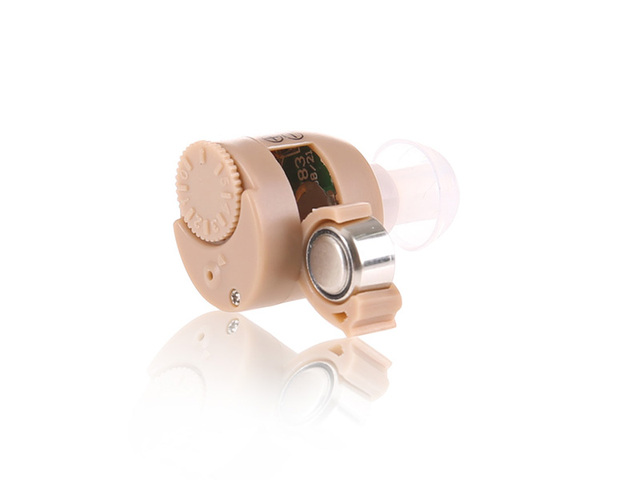 2pcs pairing left & right Analog ITC Hearing Aids S-211 Invisible Mini In the Ear Sound Amplifier Micro Ear Hearing Aid