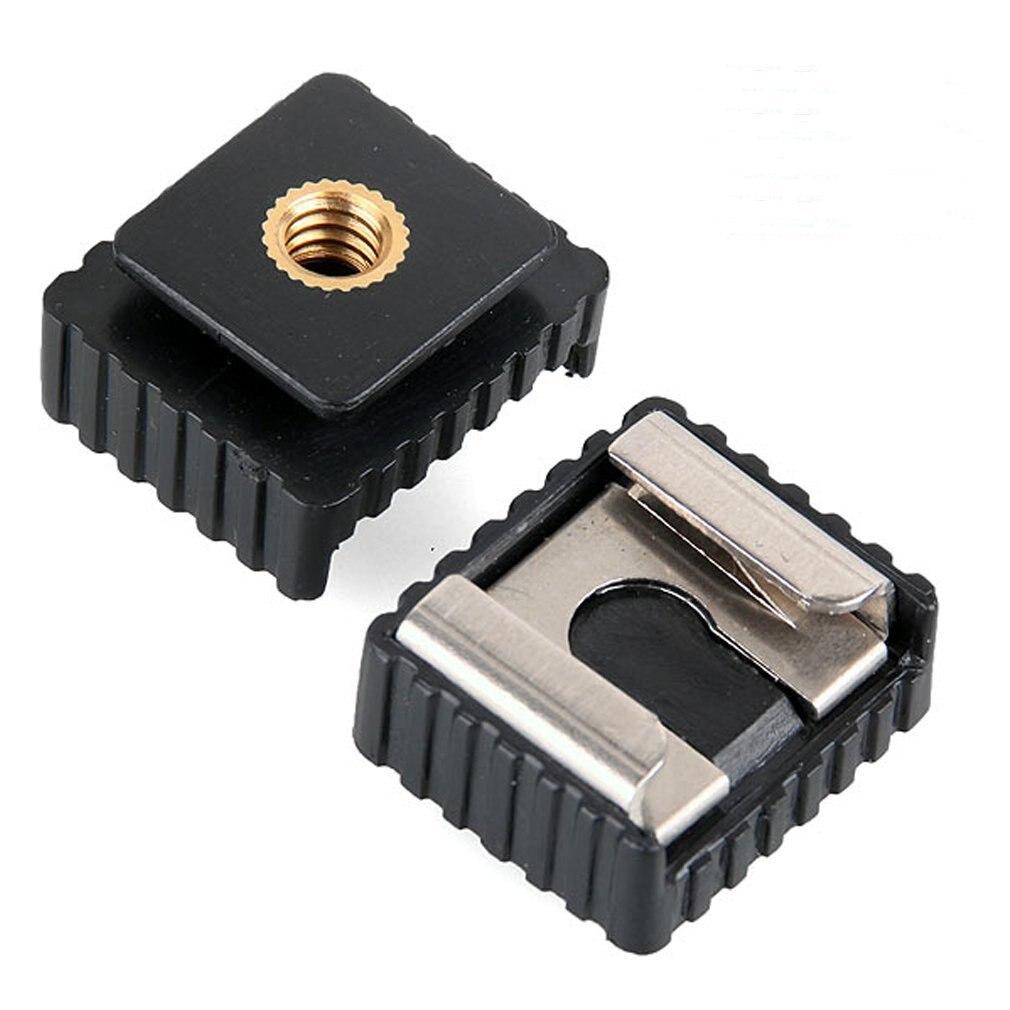 SC-6 Adaptateur sabot pour flash Speedlite Standard Montage Photo Studio Accessoires Mount Adapter à 1/4 Fil