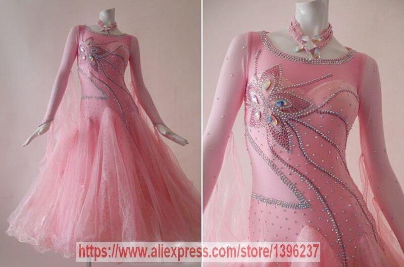 Ballroom font b Dance b font Dresses Women High Quality Custom Made Profession font b Tango