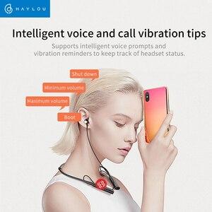 Image 3 - Haylou C10 الرقبة اللاسلكية طوق سماعات في الأذن بكلتا الأذنين ستيريو بلوتوث الرياضة سماعات مع ميكروفون