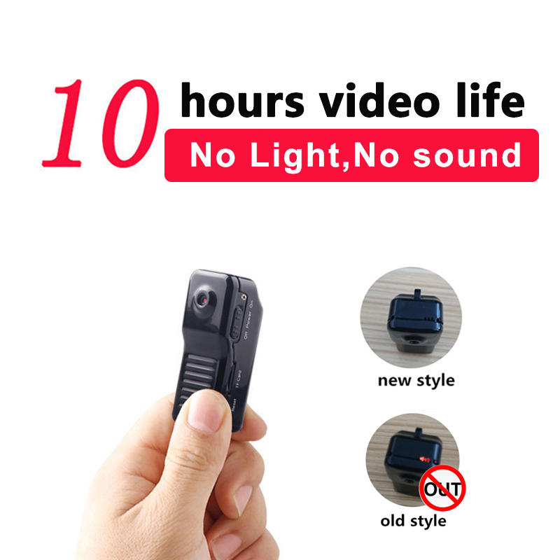 working 10hours Mini Camera Micro Camcorder Built-in Microphone Action DV Video Audio Recorder pk sq8 sq13 support hidden TFcard image
