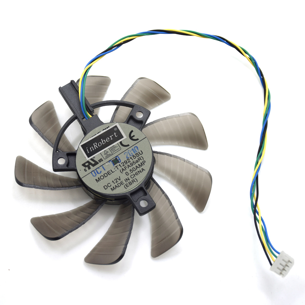 85mm T129215SU 0.50A Cooling Fan For ASUS MSI Gigabyte GTX 1060 G1 GTX 1050Ti GTX 1070 WINDFORCE Graphics Card Cooler Fans