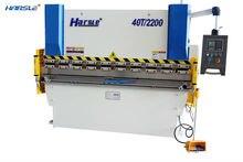WE67K 500T 4000 Electro hydraulic synchronous CNC press brake servo motol bending machine price