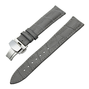 Image 4 - 14/16/18/19/20/21/22/23/24mm Genuine Leather Watch Band for Frederique Constant Stainless Steel Buckle Strap Wrist Belt Bracelet