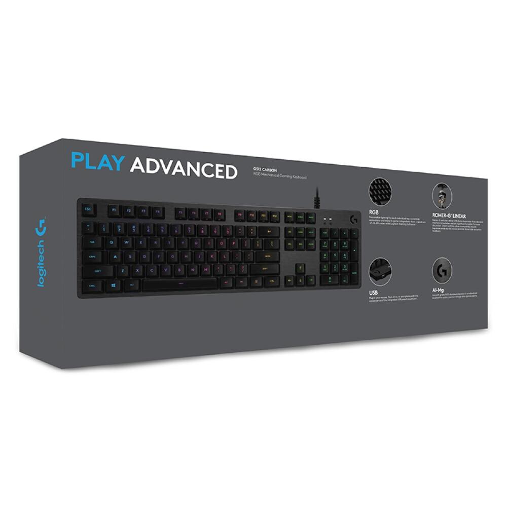 Купить с кэшбэком Logitech G512 RGB full size mechanical gaming keyboard RGB mechanical keyboard Logitech G L axis eating chicken keyboard Jedi su