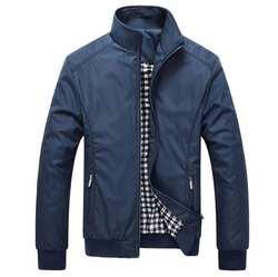 Осень пальто для будущих мам Для Мужчин's куртки 5XL повседневное одноцветное мужчин верхняя одежда Slim Fit Мужской бомбер куртк