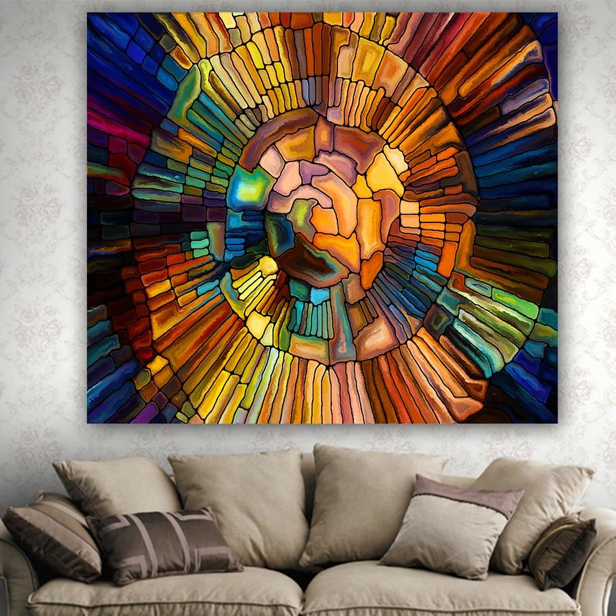 Colorido De Impress O Geom Trica Casa Decorativo Tape Arias  -> Tapetes Geometricos Sala
