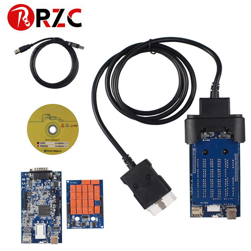 ZOLIZDA CDP TCS Bluetooth cdp tcs 2015 R3 keygen software as Multidiag pro OBD2 scanner cars
