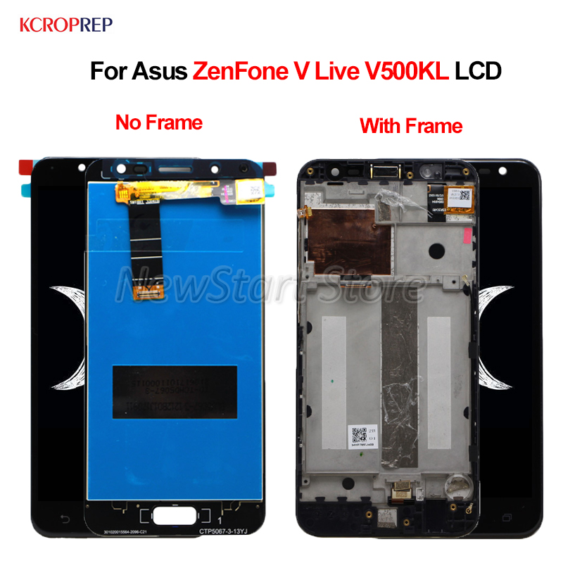 For Asus ZenFone V Live V500KL LCD Display Touch Screen Digitizer Assembly 100% New 5.0 For Asus ZenFone V Live V500KL lcdFor Asus ZenFone V Live V500KL LCD Display Touch Screen Digitizer Assembly 100% New 5.0 For Asus ZenFone V Live V500KL lcd