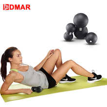 DMAR 3pcs EPP Massage Peanut Ball High Density Lightweight Fitness Training Body Yoga Exercise Relieve Pain Gym Home