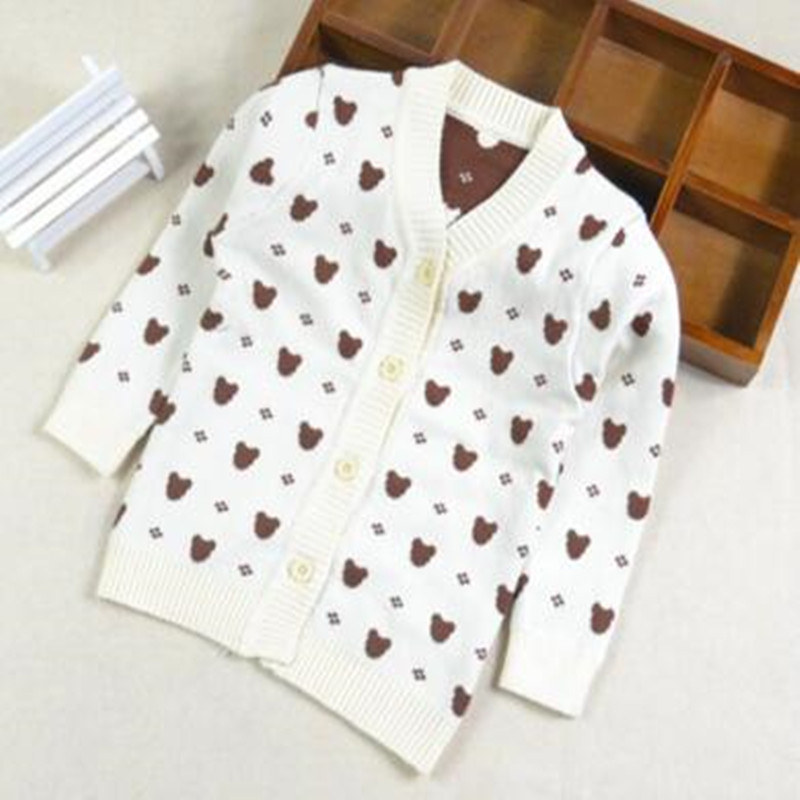 Free shipping 2016 new baby girls boys clothing sweater spring/autumn baby sweaters newborn clothes O-neck Print outerwear 22
