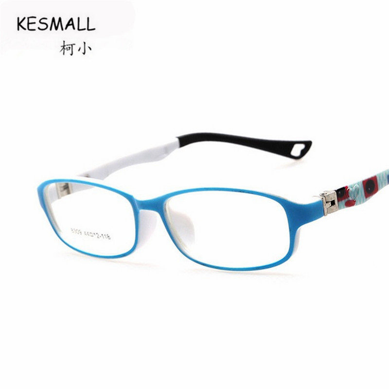 KESMALL 2018 New Children Gaming Glasses Frame Boys Girls Ultra-Light Myopia Eyeglassses Frames Fashion Computer Eyewear XN273