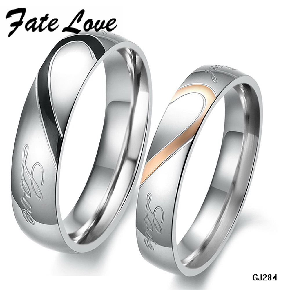 Popular Couple Promise Rings-Buy Cheap Couple Promise Rings lots ...