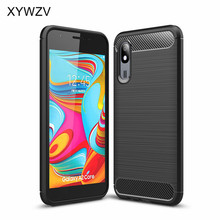 For Samsung Galaxy A2 Core Case Shockproof Armor Protective Soft Silicone Phone Case Back Cover For Samsung Galaxy A2 Core Cover protective zebra wood back case cover for samsung galaxy s4 brown yellow