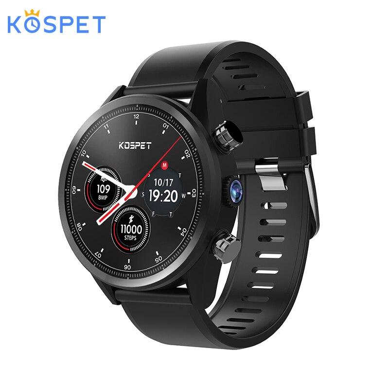 KOSPET надежда 4G Bluetooth Android 711 139 Сенсорный экран 3 GB  32 ГБ IP67 Водонепроницаемый MT6739 Камера gps Бизнес Смарт часы телефон купить на AliExpress