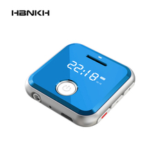 HBNKH H-R300 0.9″ Screen Mini Metal Mp3 Player 32GB Entry-level Music Players Durable Mp3 Player with FM Radio Voice Recorder