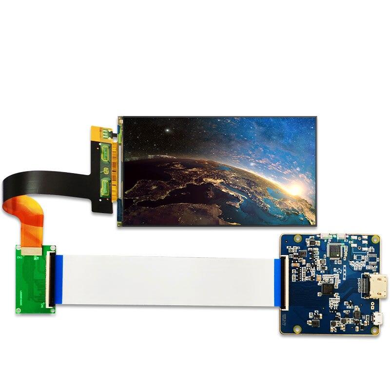 5,5 pulgadas 2 K IPS LCD de pantalla de 1440x2560 con HDMI a MIPI Placa de controlador para 3d impresora lcd VR para proyector