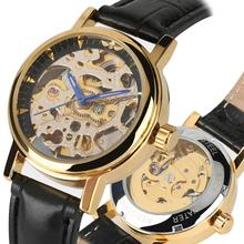 Women Watches Mechanical Watch Top Brand Automatic Self Wind Tevise Resistant Golden Stainless Steel Skeleton reloj mujer
