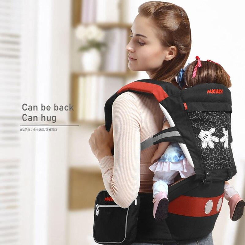 Disney porte-bébé ergonomique bébé Hipseat taille transporteur avant face ergonomique kangourou élingue pour bébé voyage 0-36 M