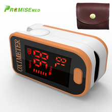PRO-F4 with a bag Finger Pulse Oximeter,Heart Beat At 1 Min Saturation Monitor Heart Rate Blood Oxygen CE Approval-orange