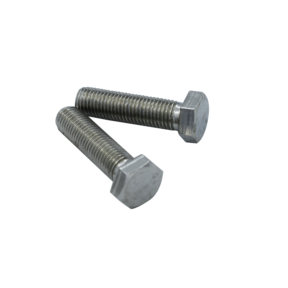 все цены на DIN933 304 Stainless Steel Screws External Hex Screws M12 Thread 20-170mm Thread Length Outer Hex Insulation Screw онлайн