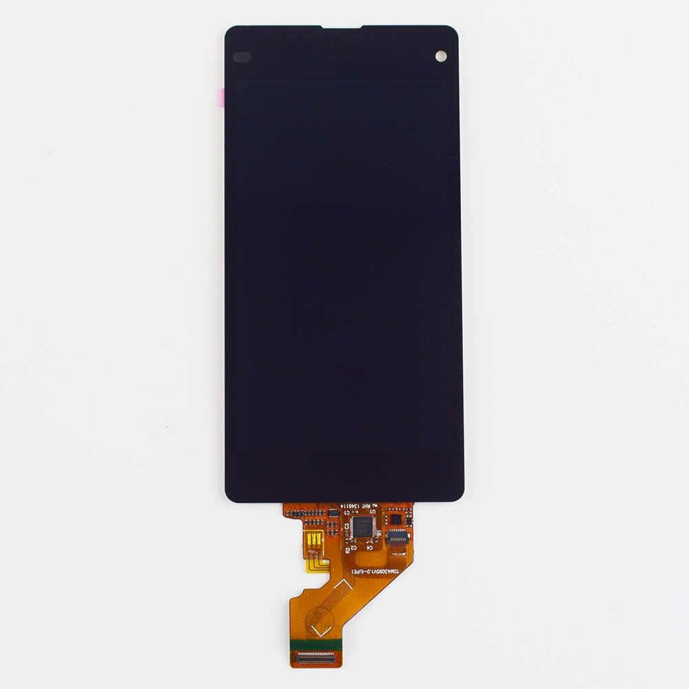 Pour Sony Xperia Z1 Compact M51W D5503 Z1 mini écran tactile capteur de numériseur verre + écran LCD panneau de moniteur assemblée