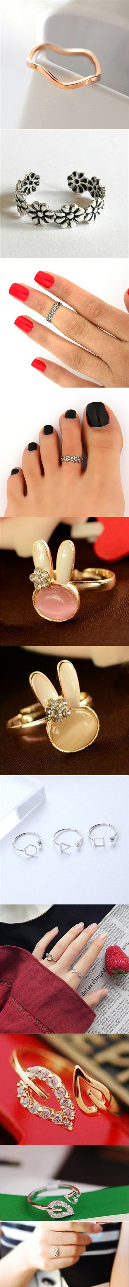 Lover Hot Sell Elegant Gold Color Wedding Ring Made with Genuine Austrian Crystals Full Sizes Wholesales 6