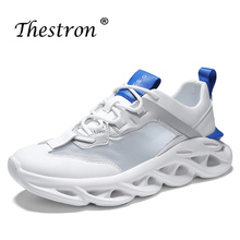 цена на 2019 Light Running Shoes for Men Summer Male Sport Outdoor Walking Sneakers Breathable Comfortable Sport Trainers for Man