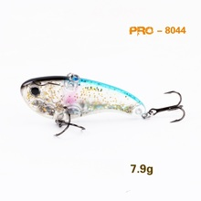 Ilure fishing lure 7.9g 17.2g VIB ice fishing bait hard lures isca artificial wobbler fishing tackle China free shipping
