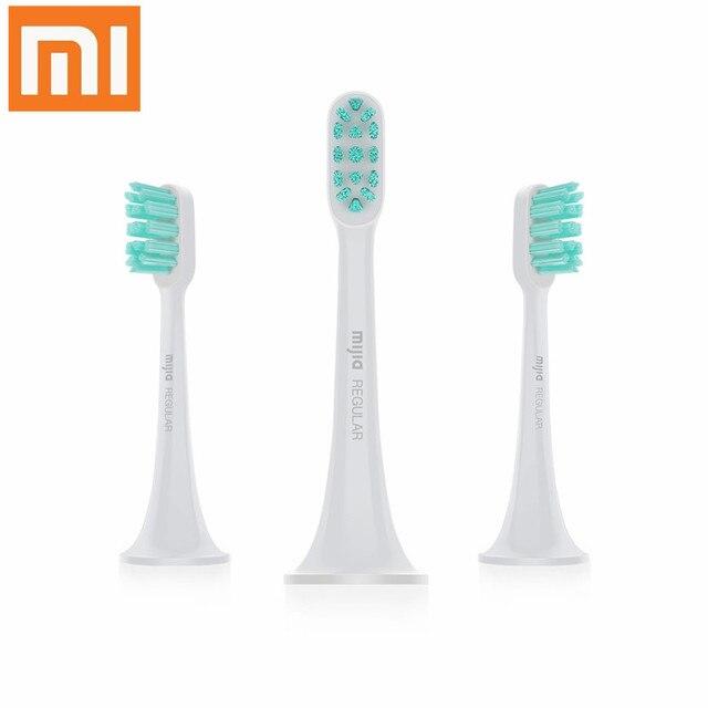 الأصلي شاومي MIJIA سونيك فرشاة الأسنان الكهربائية رؤساء 3 قطعة فرشاة الأسنان الذكية رئيس صغير Mi نظيفة سونيك فرشاة الأسنان الكهربائية